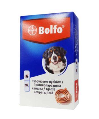 Bolfo kullancs- és bolhanyakörv közepes- és nagytestű kutyáknak 70cm