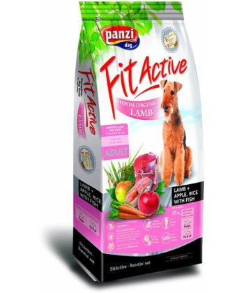 FitActive Adult Hypoallergenic Lamb & Apple+Rice 4kg