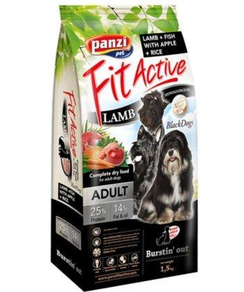 FitActive BlackDogs Adult Hypoallergenic Lamb & Fish 1,5kg