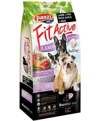 FitActive BullDogs Adult Hypoallergenic Lamb & Fish 1,5kg
