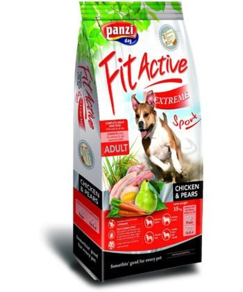 FitActive Extreme Sport Adult Chicken & Pears 15kg