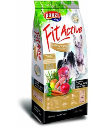 FitActive Maintenance Adult Hypoallergenic Lamb+Apple, Rice 15kg