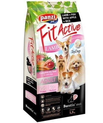 FitActive ToyDogs Adult Hypoallergenic Lamb & Fish 1,5kg