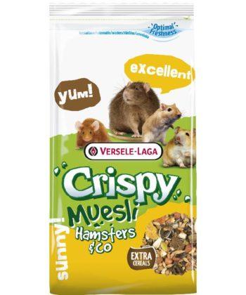 Versele-Laga Crispy Muesli Hamsters & Co Hörcsög eleség