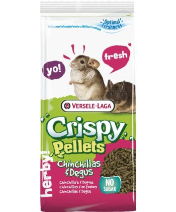 Versele-Laga Crispy Pellets Chinchillas & Degus