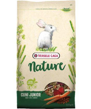 Versele-Laga Nature Cuni Junior Nyúleledel 2,3kg