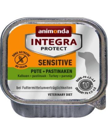 Animonda Integra Protect Dog Sensitive PULYKA + PASZTERNÁK alutálkás 11x150g