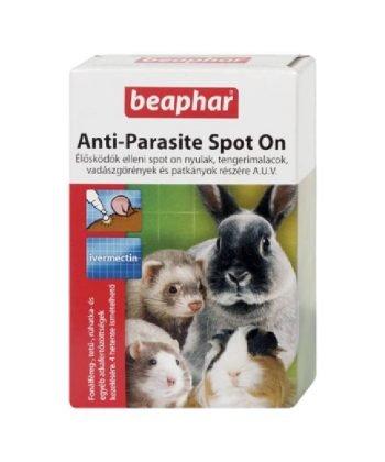 Beaphar Spot On nyúl/tengerimalac/görény/patkány részére 1db pipetta