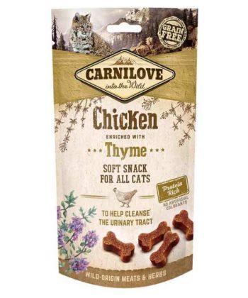 Carnilove Cat Semi Moist Snack Csirkehússal-Kakukkfűvel 50g