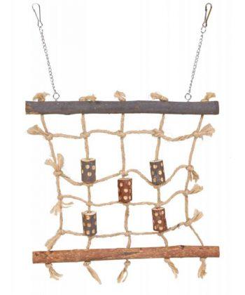 Kötél mászófal 27x24cm 5893