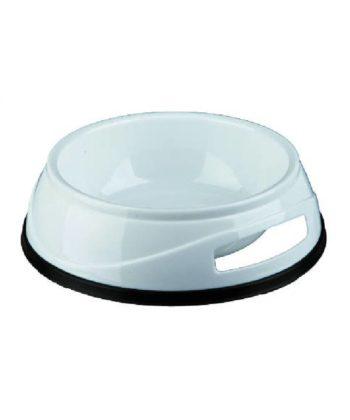 Műanyag tál gumi talppal 0,75L 24952