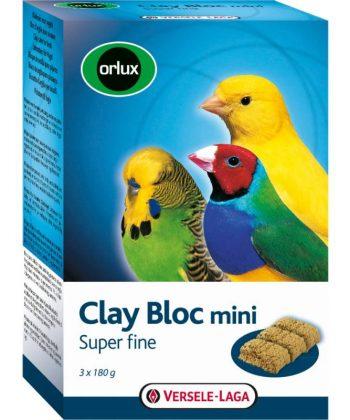 Versele-Laga Clay Bloc Mini 3x180gr